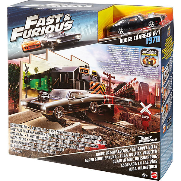 "Автотрек Hot Wheels ""Форсаж Fast & Furious"" Quarter Mile Escape"