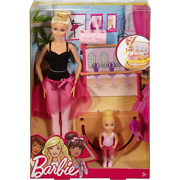 """Игровой набор Barbie """"Барби-гимнастка"""" Инструктор балета"""