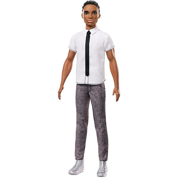 """Кукла Кен Barbie """"Игра с модой"""" В рубашке с галстуком, 29 см"""