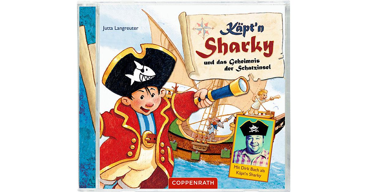 CD Käpt'n Sharky - Und das Geheimnis der Schatzinsel Hörbuch
