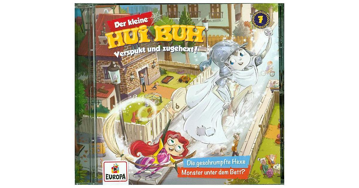 CD Der Kleine Hui Buh 07 - Die geschrumpfte Hexe/ Monster unter dem Bett Hörbuch
