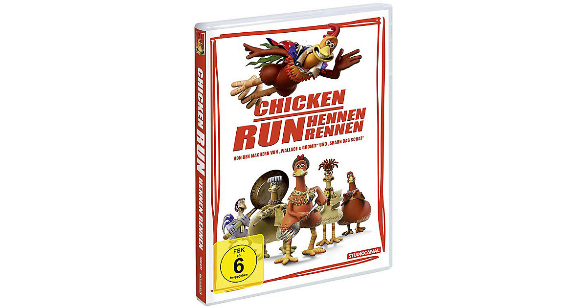 DVD Chicken Run - Hennen rennen Hörbuch