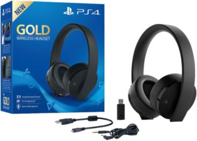 how to connect wireless headset to ps4