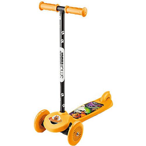 Трехколесный самокат Small Rider Scooter Cosmic Zoo, оранжевый от Small Rider