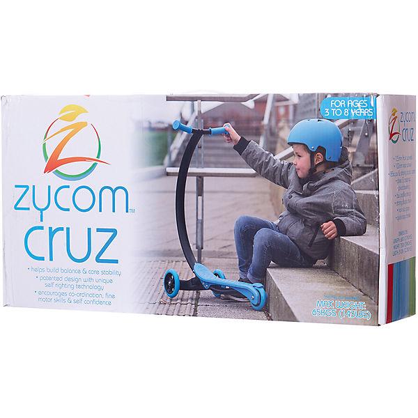 Трехколесный самокат Zycom Cruz С100, черно-синий