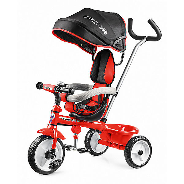 Трехколесный велосипед Small Rider Trike Cosmic Zoo, красный
