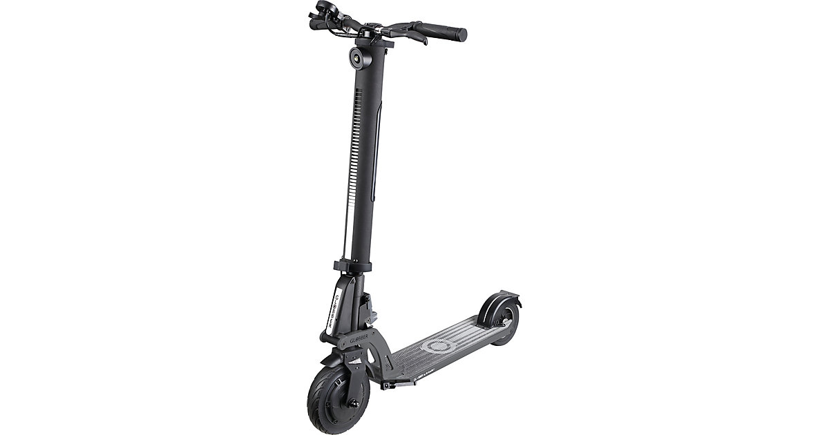 GLOBBER · E-Scooter One K E-Motion, schwarz