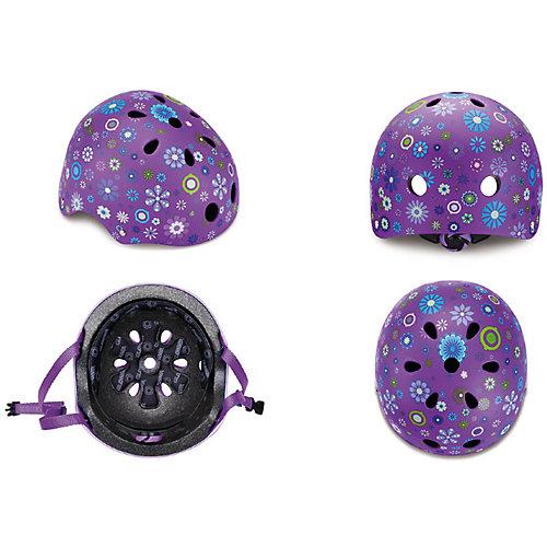 """Шлем Globber """"Printed Junior"""", фиолетовый от Globber"""