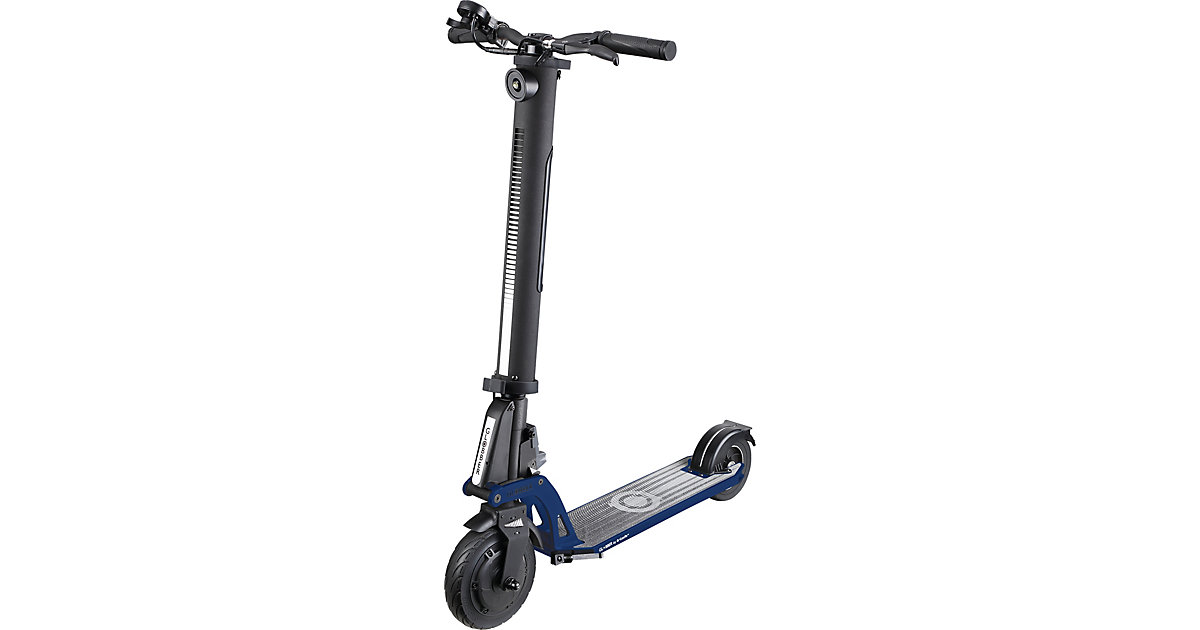 GLOBBER · E-Scooter One K E-Motion, schwarz/grau