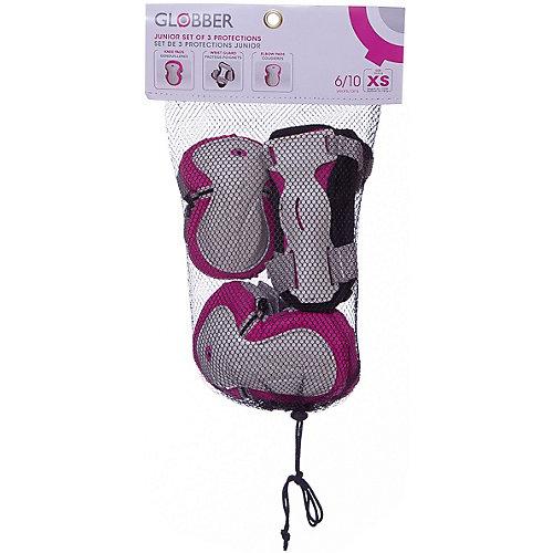 Комплект защиты Globber «Junior Protective Set», розовый от Globber
