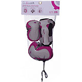 Комплект защиты Globber «Junior Protective Set», розовый