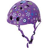 """Шлем Globber """"Printed Junior"""", фиолетовый"""