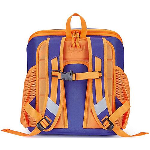 """Ранец YUU """"Max Luuna"""" - синий/оранжевый от YUU"""