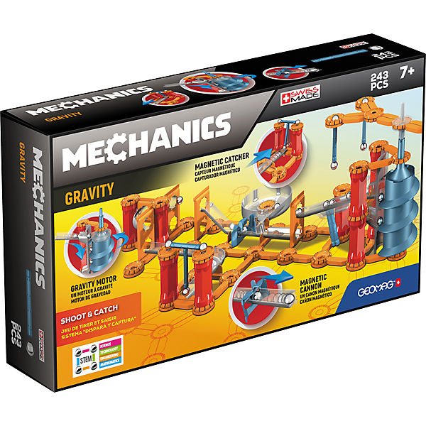 GEOMAG 8400774 Gravity Shoot & Catch 243 pcs
