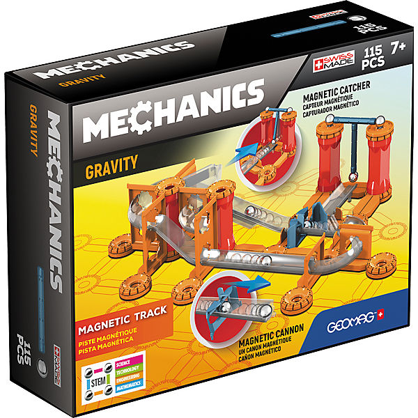 GEOMAG 8400772 Gravity Race Track 115 pcs