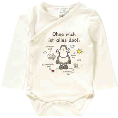 Sheepworld Newborn Wickelbody, Organic Cotton