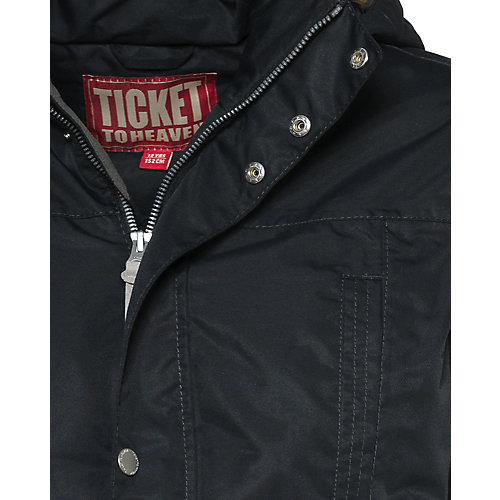 Пуховик Ticket To Heaven - черный от TICKET TO HEAVEN