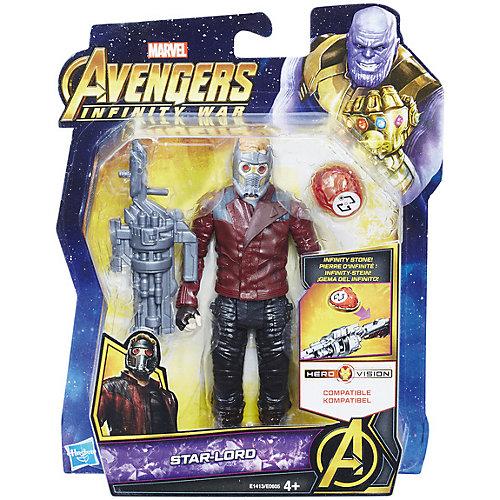 """Фигурка Avengers """"Мстители и камни бесконечности"""" Звёздный лорд, 15 см от Hasbro"""