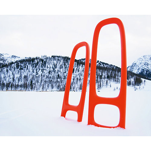 Лопата с ситом для песка и снега Quut Scoppi, оранжевый