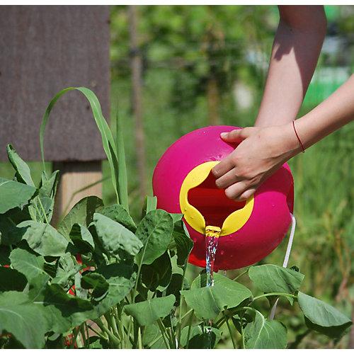 Ведёрко для воды Quut Ballo, розовая Калипсо и спелый жёлтый