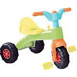 Трехколесный велосипед Dolu, зеленый/желтый