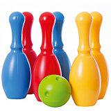 Большой набор боулинг DOLU из 6 кеглей и 1 шаром
