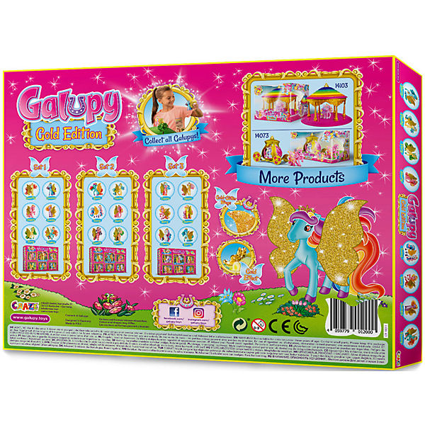 Craze Galupy Gold Gold Gold Edition Box, CRAZE 86a4d4