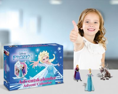 Disney Frozen Film Adventskalender mit 3D Specials Die Eiskönigin gratis Versand