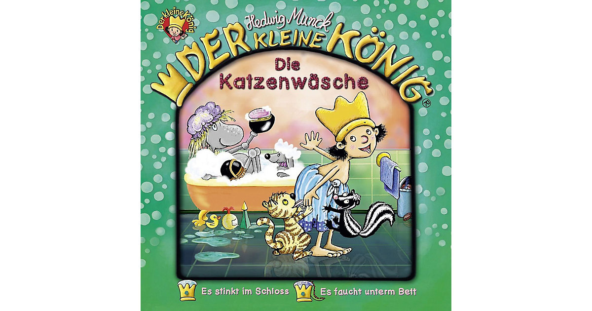 CD Der Kleine König 39 - Die Katzenwäsche Hörbuch