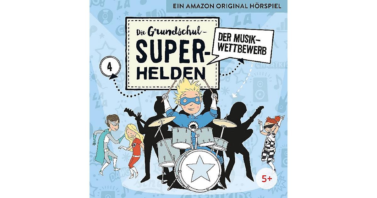 CD Die Grundschul-Superhelden 04 - Der Musikwet...