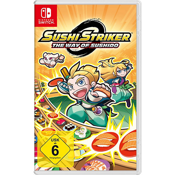 Nintendo Switch Sushi Striker , The Way of Sushido