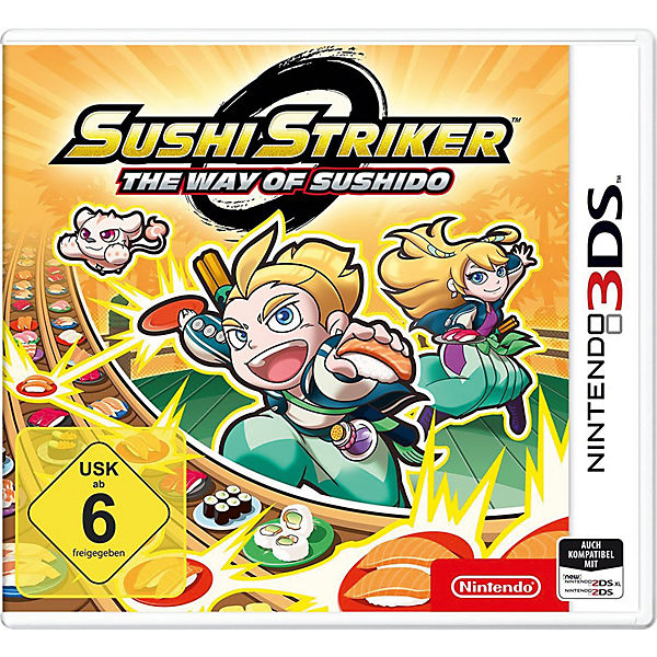 AUSL 3DS Sushi Striker - The Way of Sushido