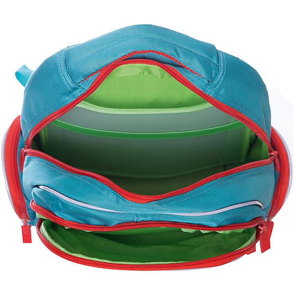 Рюкзак 4ALL Линия School, сине-зеленый