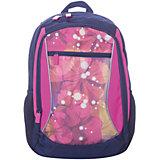 Рюкзак 4ALL Линия School, сине-розовый