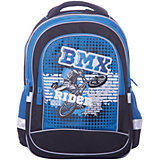 Рюкзак 4ALL Линия School, черно-бирюзовый
