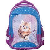 Рюкзак 4ALL Линия School, фиолетово-бирюзовый