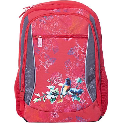 Рюкзак 4ALL Линия School, красно-серый - красный от 4ALL