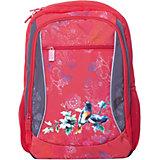 Рюкзак 4ALL Линия School, красно-серый