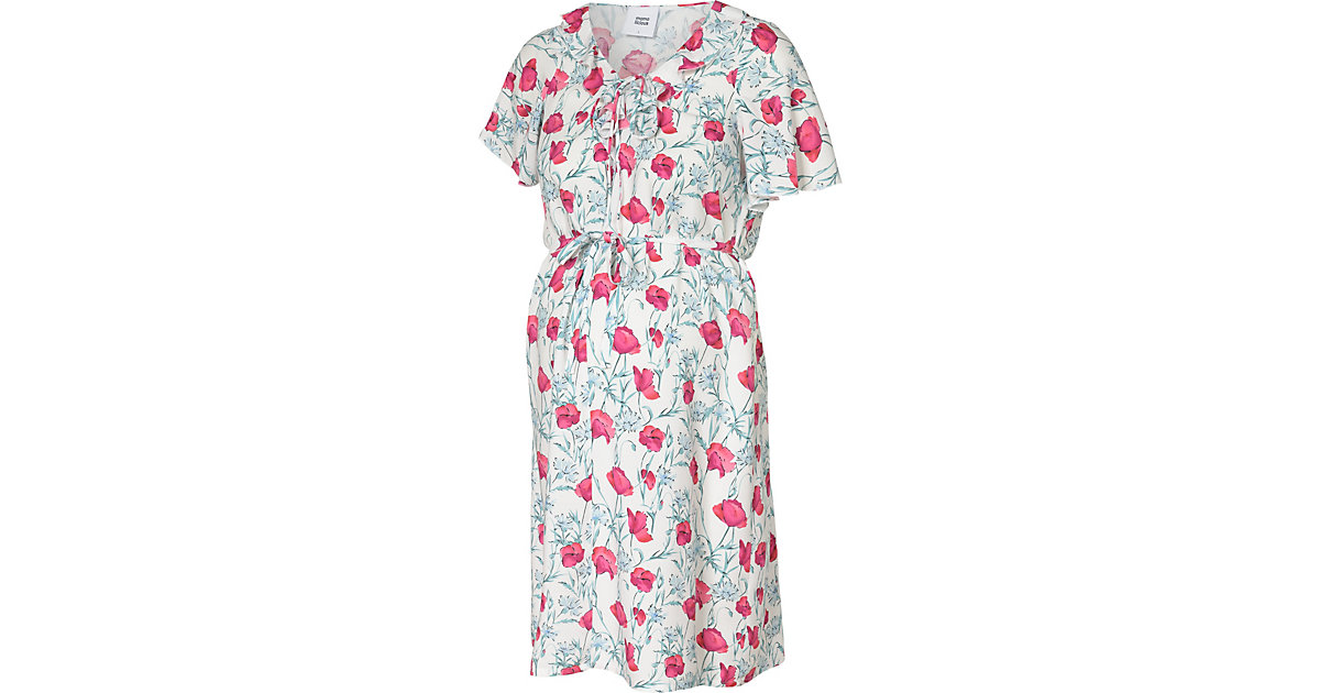 MLCINTI S/S WOVEN ABK DRESS - Umstandskleider - weiblich blau/weiß Gr. 40 Damen Kinder