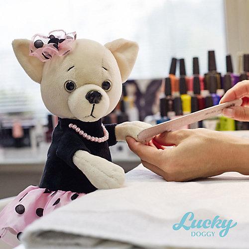 Мягкая игрушка Orange Lucky Doggy Собака Lili: Бусинка, 37 см от Orange