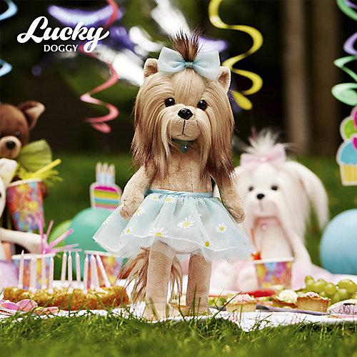 Мягкая игрушка Orange Lucky Doggy Собака Yoyo: Ромашка, 37 см от Orange