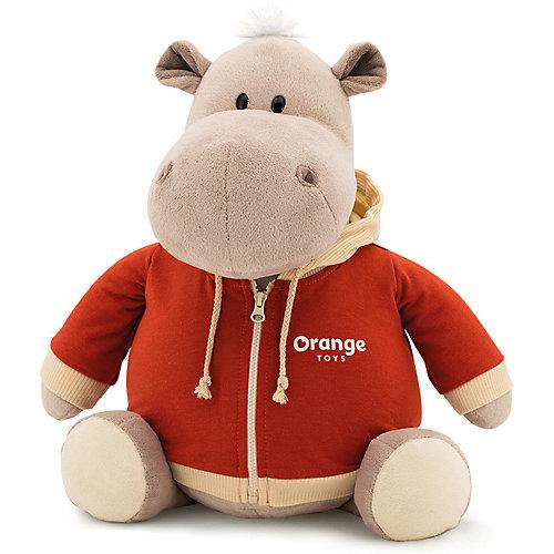 Мягкая игрушка Orange Toys Бегемот в оранжевой толстовке, 30 см от Orange