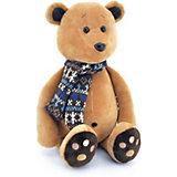Мягкая игрушка Orange Life Медвежонок Медок в шарфике, 30 см