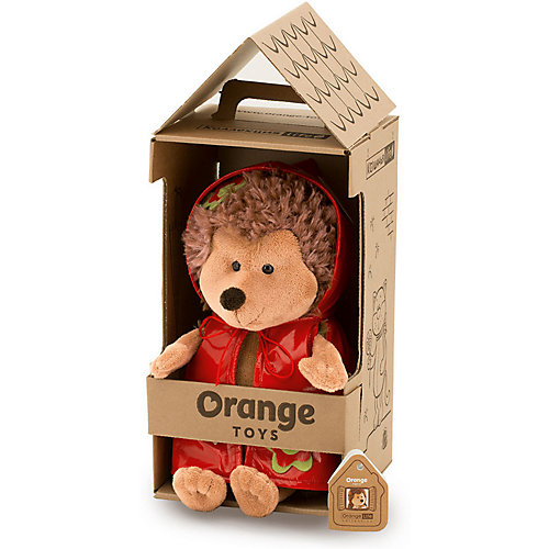 Мягкая игрушка Orange Life Ежинка Колючка: Весёлый дождик, 25 см от Orange