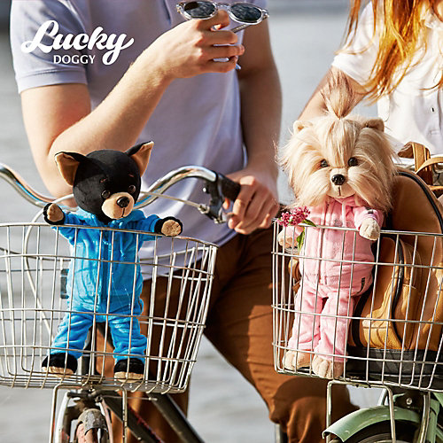 Мягкая игрушка Orange Lucky Doggy Собака Yoyo: Фитнес, 37 см от Orange