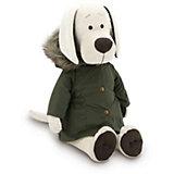 Мягкая игрушка Orange Life Собачка Лапуська: Осенняя куртка, 30 см