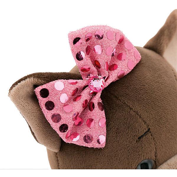 Мягкая игрушка Orange Lucky Doggy Собака Kiki: Малиновый блеск, 37 см