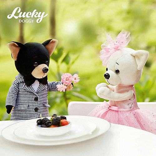 Мягкая игрушка Orange Lucky Doggy Собака Buzz: Современная классика, 37 см от Orange