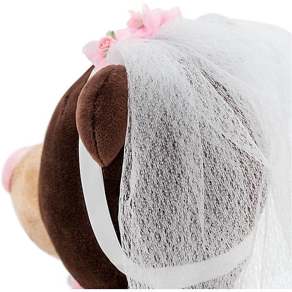 Мягкая игрушка Orange Choco & Milk Мишка Milk невеста, 30 см