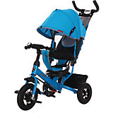 """Трёхколёсный велосипед Moby Kids """"Comfort Air"""" 10x8, синий"""